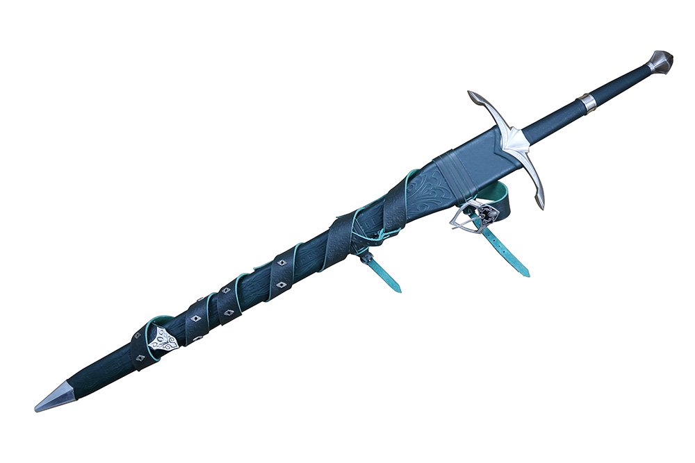 Darksword 1328 - The Vindaaris (sharpened & deluxe scabbard) 8