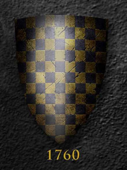 Darksword Armory Medieval Battle Shield # 1760