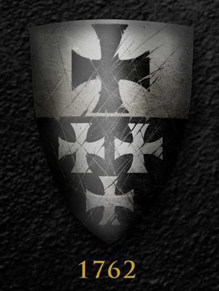 Darksword Armory Medieval Templar Shield # 1762