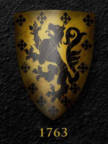 Darksword Armory Medieval Templar Shield # 1763