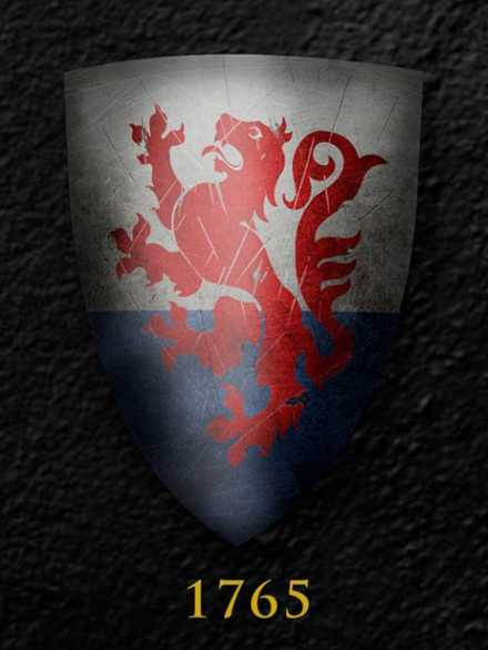 Darksword Armory Medieval Royal English Shield # 1765