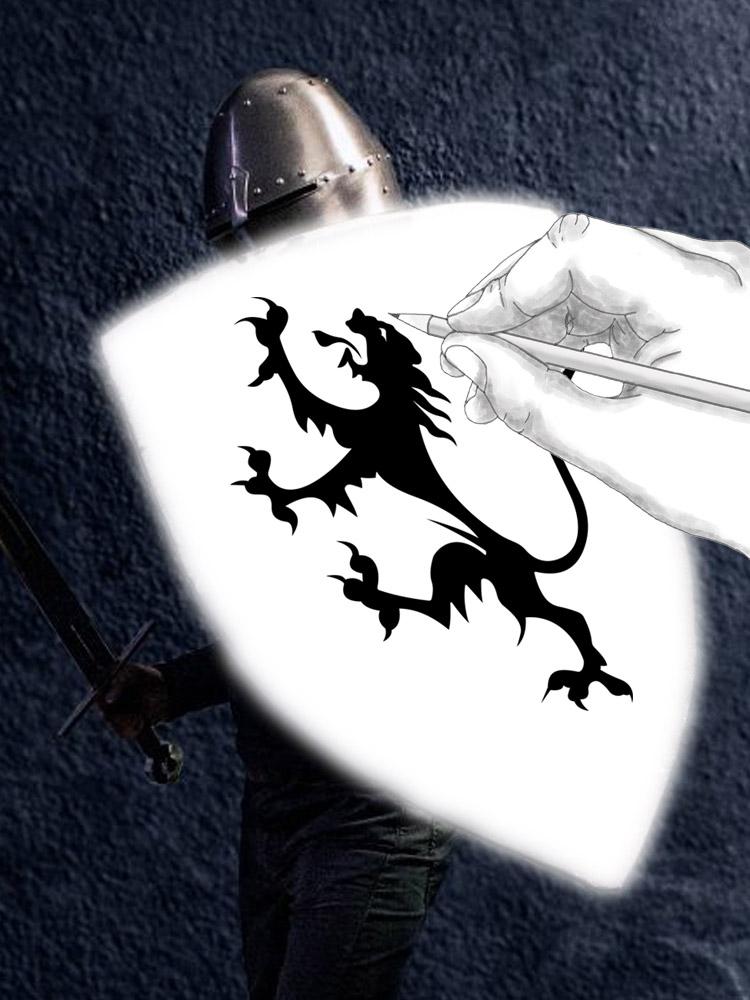 Darksword Armory CUSTOM Battle Shield