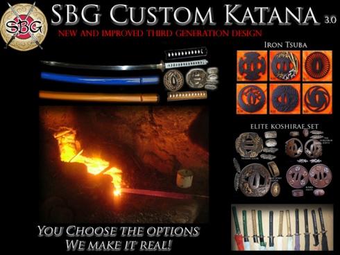 Custom Katana 3