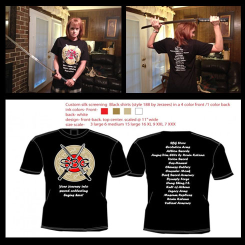 SBG T-shirts