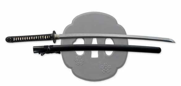 Hana hand forged samurai sword from the Dragon King forge