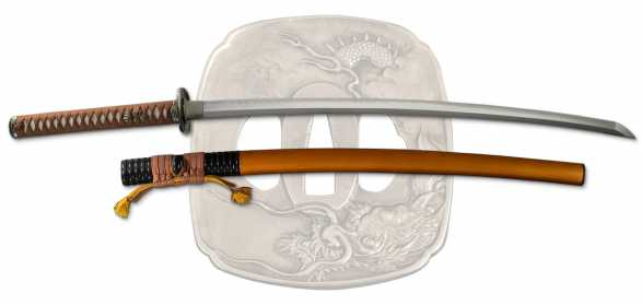 Tatsumaki Samurai Sword from Dragon King