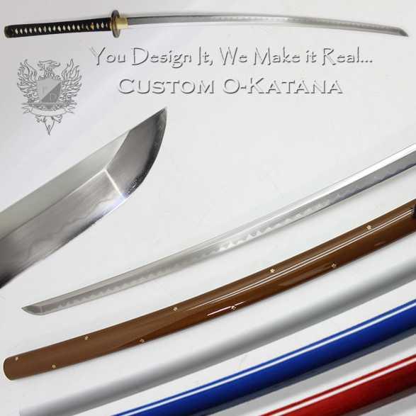 Forge Direct T10 Custom O-Katana