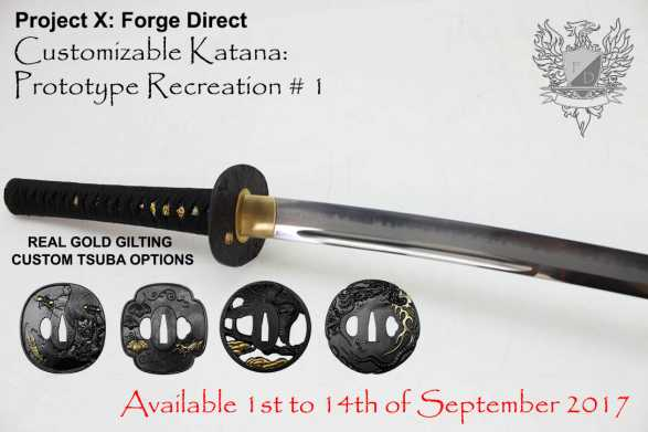 Forge Direct T10 Custom Katana