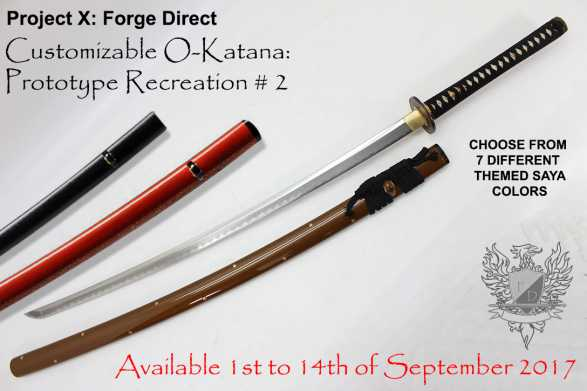 Forge Direct T10 Custom O-Katana