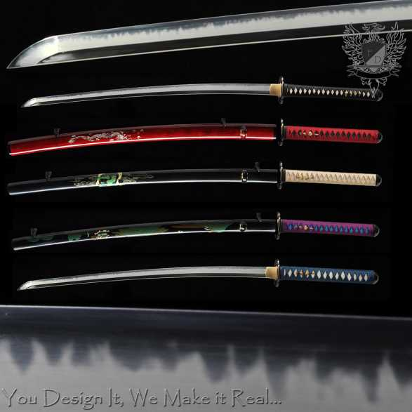 Forge Direct T10 Custom Katana