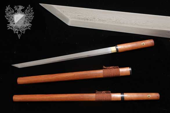 Forge Direct Tang Dynasty Rosewood Dao