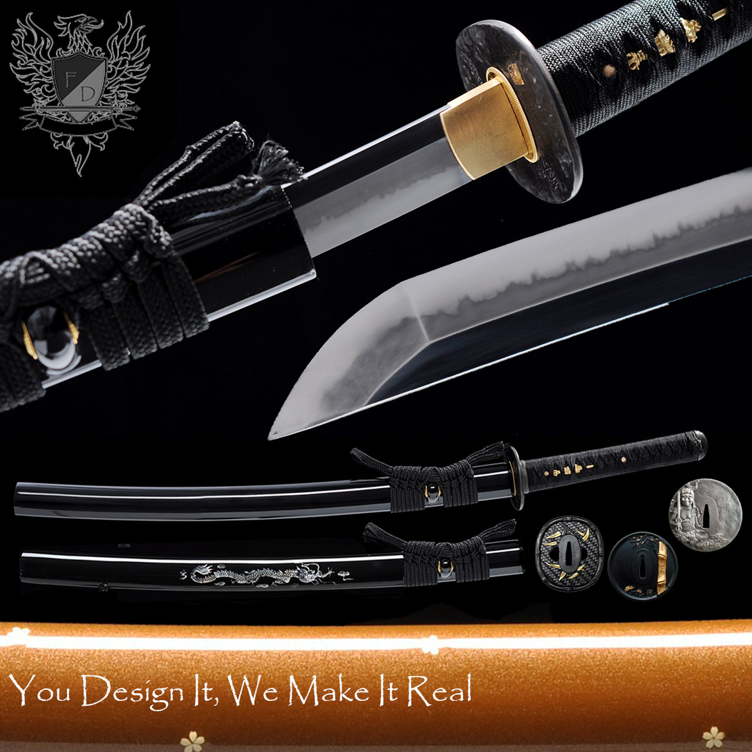 Forge Direct Elite T10 Custom Wakizashi/Ko Katana V3.0