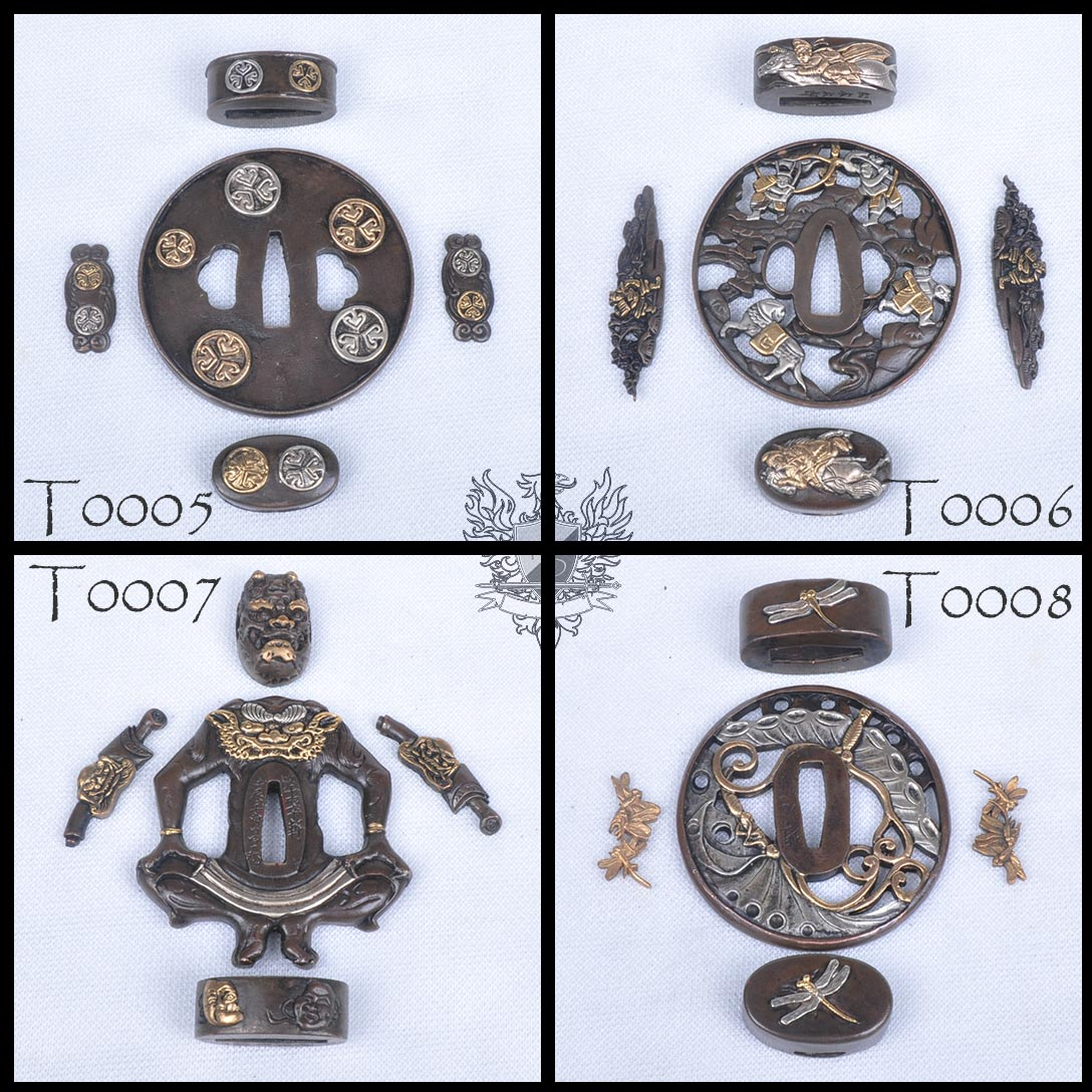 Forge Direct Optional Extras - Premium Matching Tsuba and Fitting Sets  1
