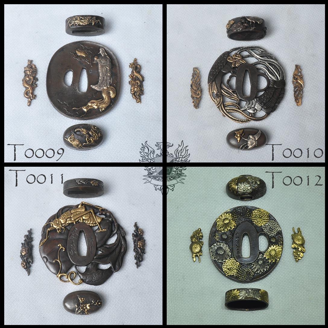 Forge Direct Optional Extras - Premium Matching Tsuba and Fitting Sets  2