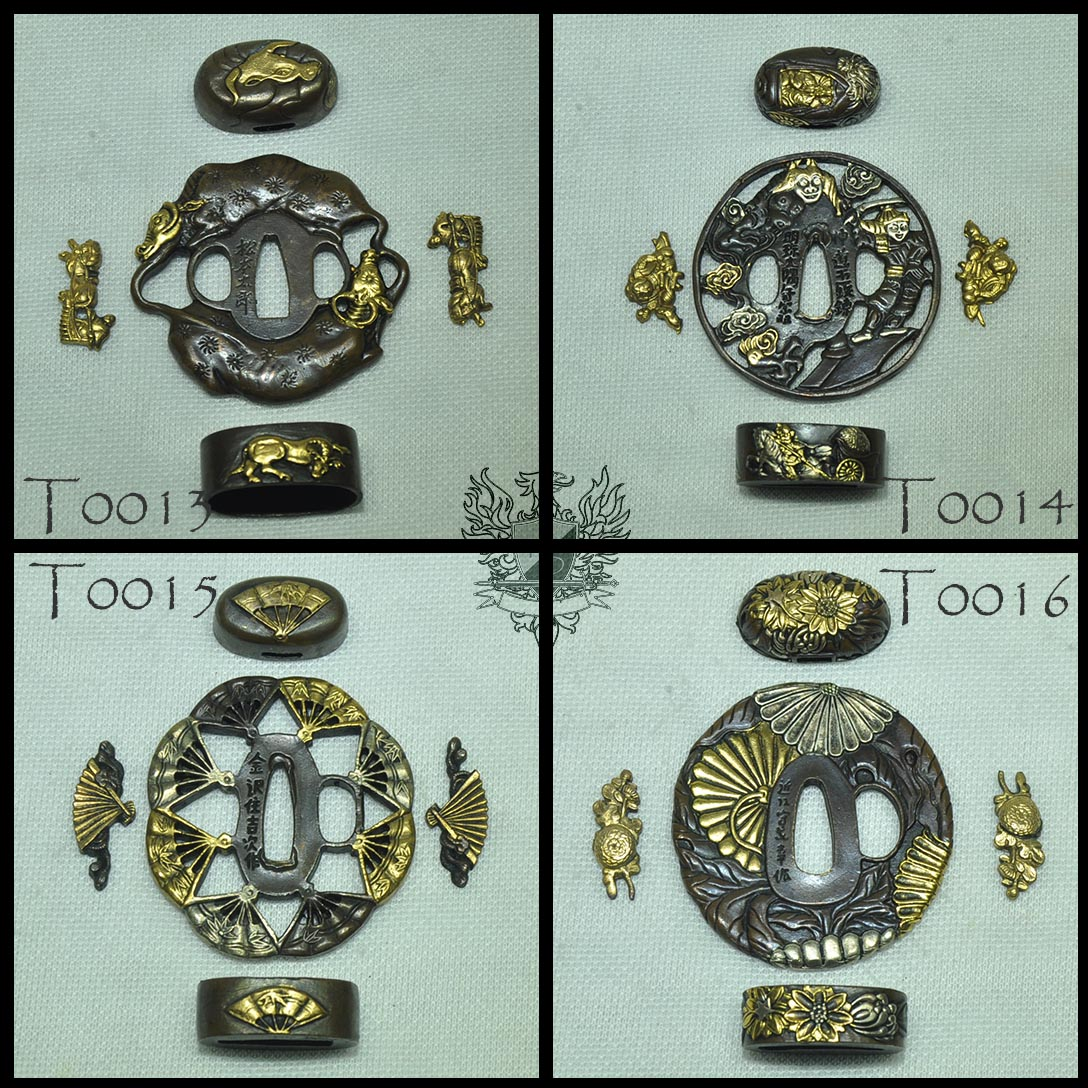 Forge Direct Optional Extras - Premium Matching Tsuba and Fitting Sets  3