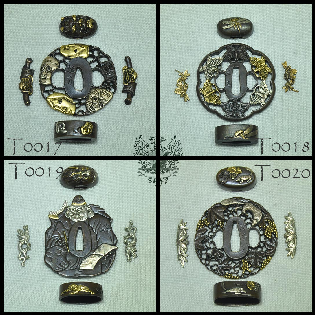 Forge Direct Optional Extras - Premium Matching Tsuba and Fitting Sets  4