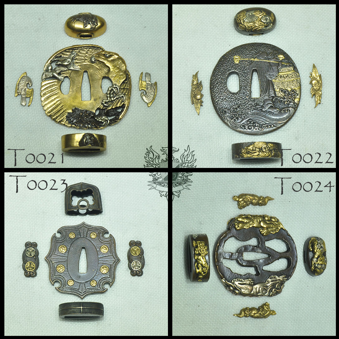 Forge Direct Optional Extras - Premium Matching Tsuba and Fitting Sets  5