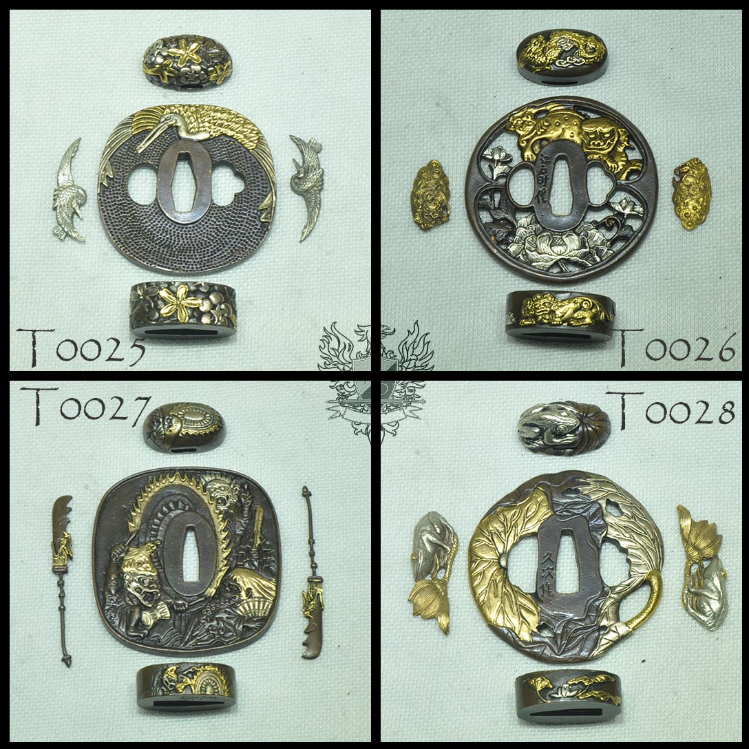 Forge Direct Optional Extras - Premium Matching Tsuba and Fitting Sets  6