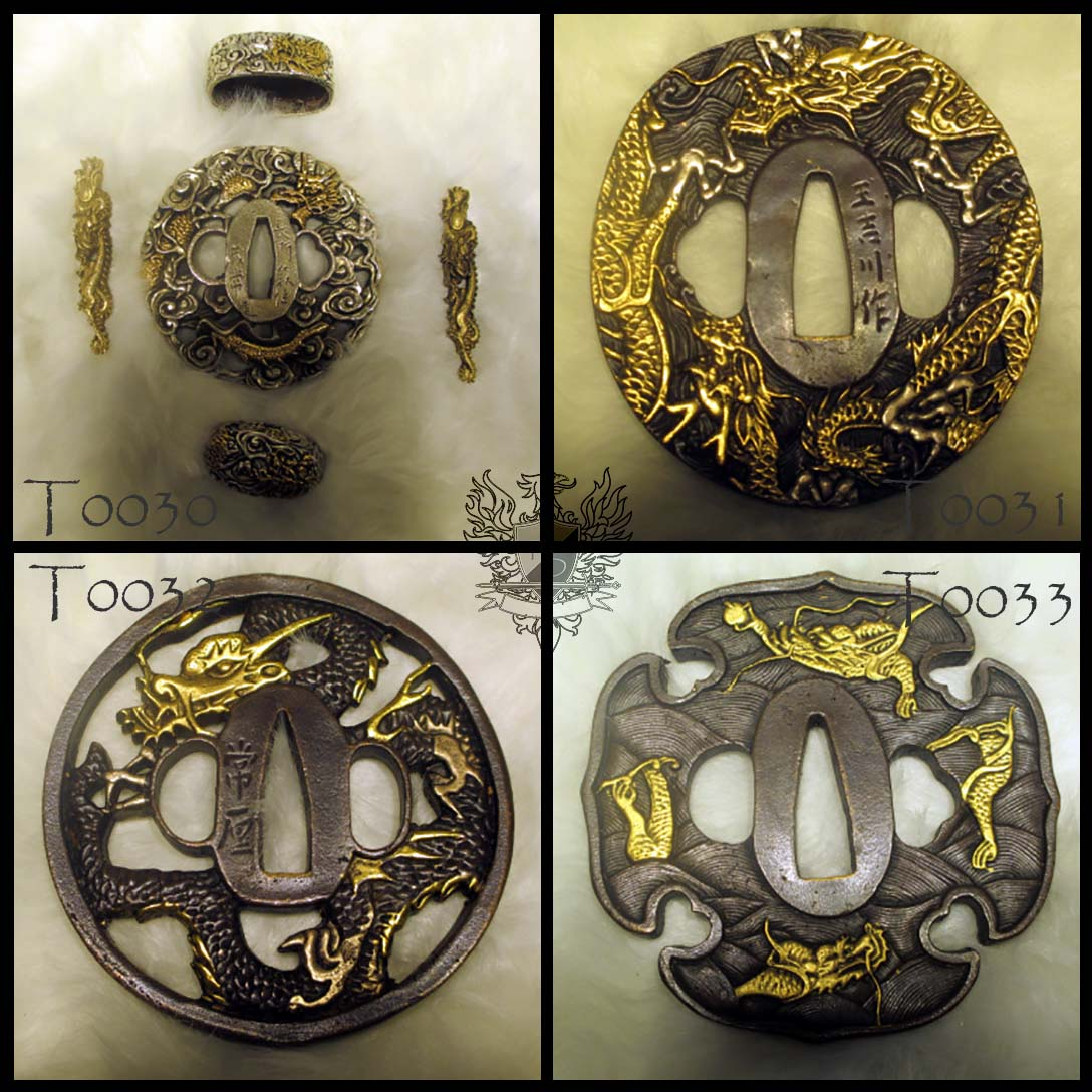 Forge Direct Optional Extras - Premium Matching Tsuba and Fitting Sets  7