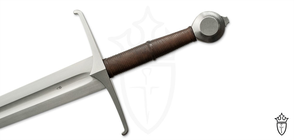 Kingston Arms Tourney Hand-and-a-Half Knightly Sword (STEEL BLUNT) 1