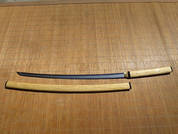 Ronin Katana Soshu Kitae In Shirasaya