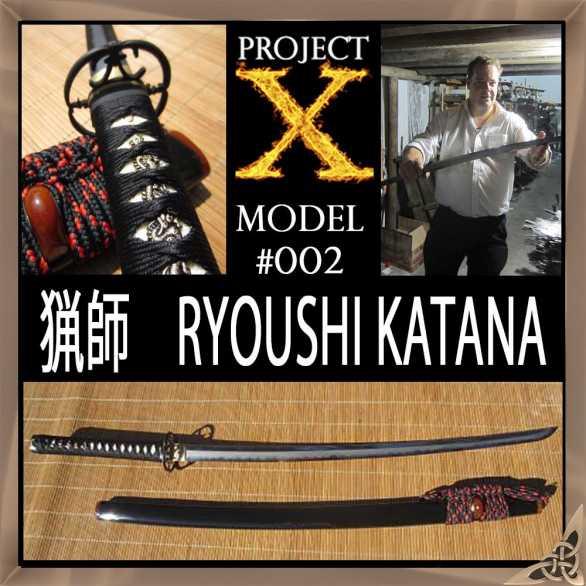 Project X - Model 002 CUSTOM KATANA