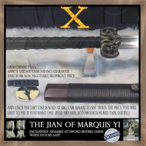 X Archive - Project X - The Jian of Marquis Yi 9