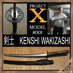 Project X - Model 001 Wakizashi/Ko Katana Mk II - Custom Opton