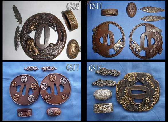 Special Tsuba and Koshirae Options