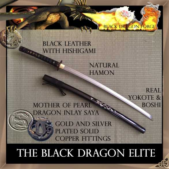SBG Black Dragon Elite Katana