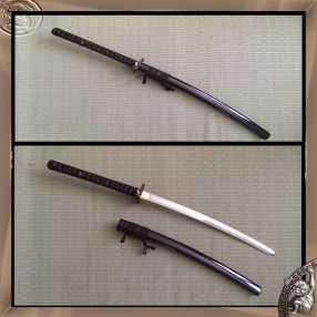 The Hobgoblin Kogarasu Nagamaki Ninjato 4