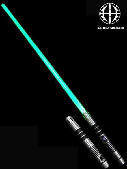 Saber Shogun Light Sword (Soundless) - Green Jedi Consular