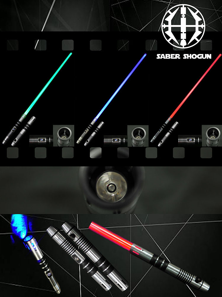 Saber Shogun Light Sword (Soundless) - Blue Jedi Guardian 1
