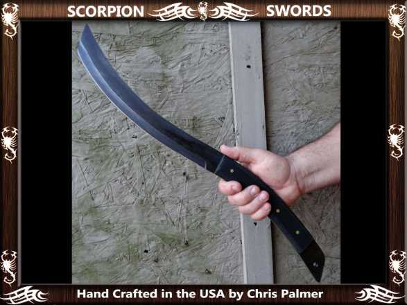 Scorpion Swords Dragon Tongue Machete