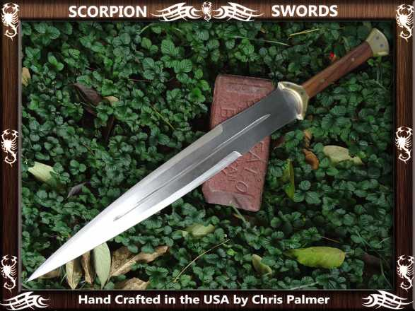 Scorpion Swords the Early Aeultian Gladius