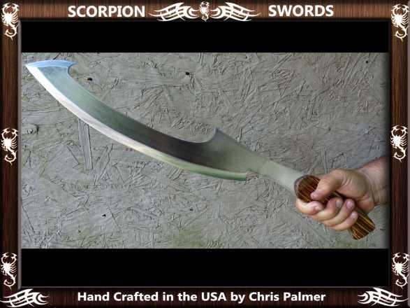 Scorpion Swords Khopesh Sword of the Pharaoh