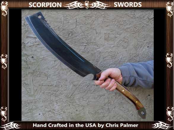 Scorpion Swords Orc War Chopper