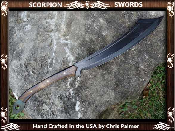 Scorpion Swords Orc War Cleaver