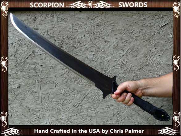Scorpion Swords - Badland Katana 2.0 - Doomsday Line Sword #01