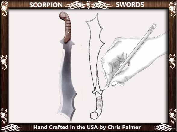 Scorpion Swords Custom Sword