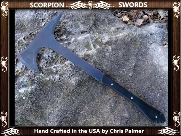 Scorpion Swords - Boarding Axe - Doomsday Line Axe #01