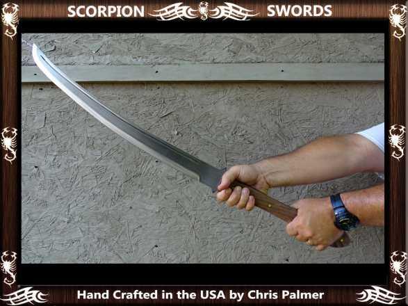 Scorpion Swords - Badland Katana - Doomsday Line Sword #01
