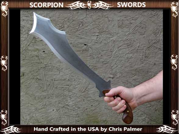 Scorpion Swords the Dusk Wind's Goad