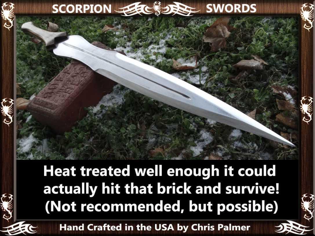 Scorpion Swords Achilles Sword 5