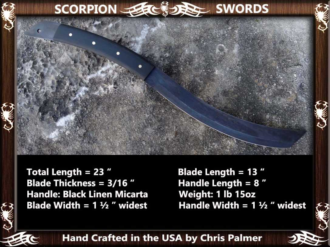Scorpion Swords Dragon Tongue Machete 3
