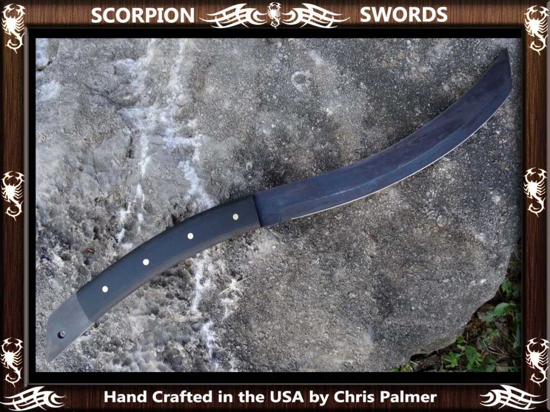 Scorpion Swords Dragon Tongue Machete 4