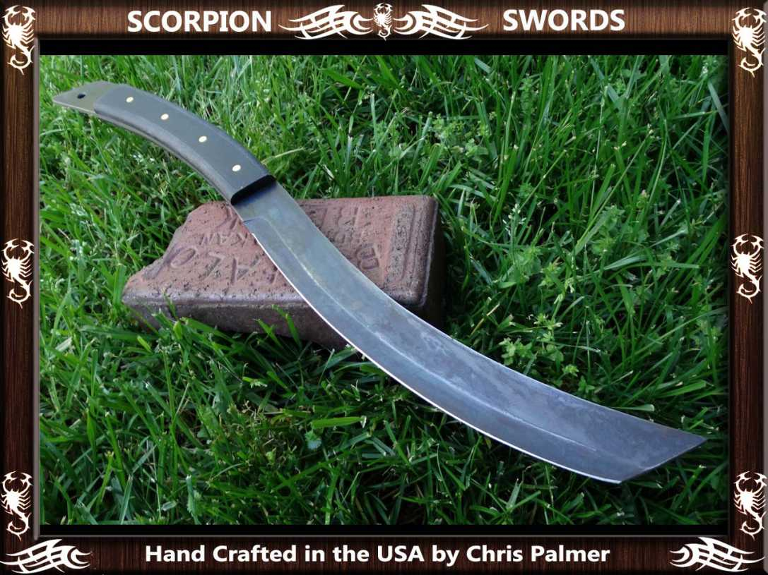 Scorpion Swords Dragon Tongue Machete 6
