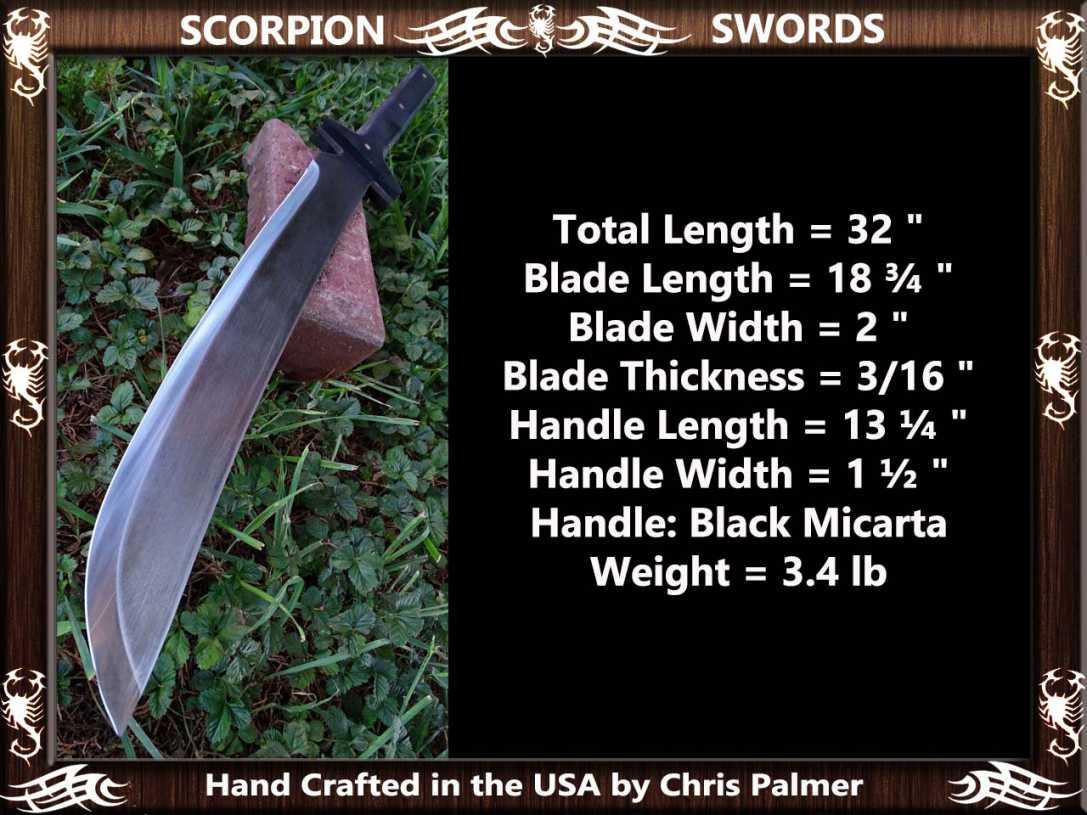 Scorpion Swords Sword of Hakai 5