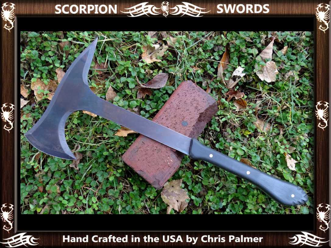 Scorpion Swords - Boarding Axe - Doomsday Line Axe #01 2