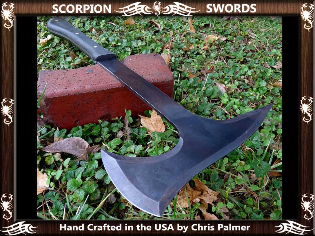 Scorpion Swords - Boarding Axe - Doomsday Line Axe #01 4
